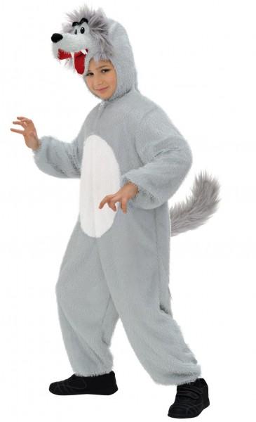 Graues Wolfskind Kostüm Fipsi