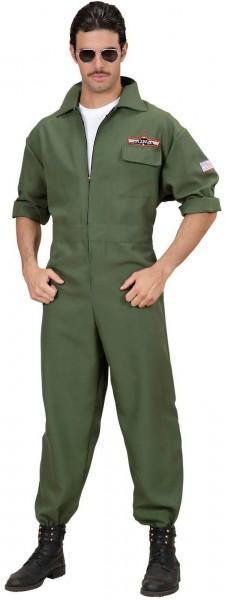 Militär Piloten Herrenkostüm