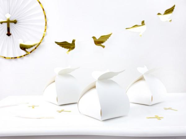10 coffrets cadeaux Heaven Blessed blanc