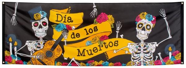 Dia de los Muertos Party Banner 74x220cm