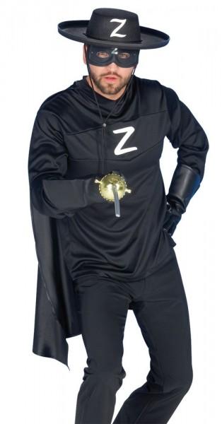 Zorro Der Rächer Herrenkostüm