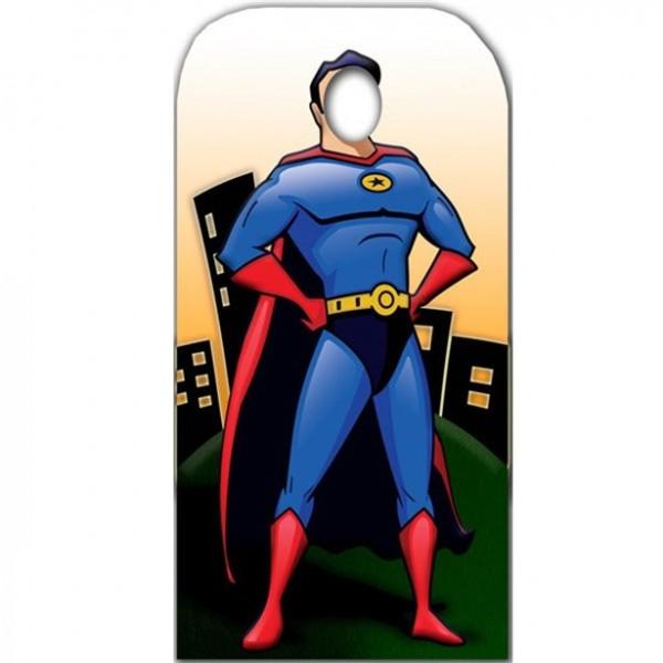 Superheld Fotowand 1,86m