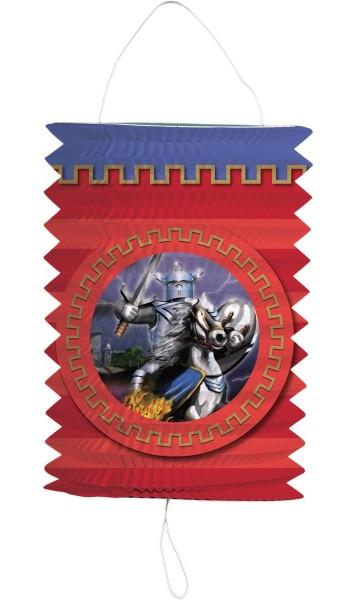 Ritter auf Schlachtross Laterne 16cm