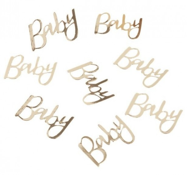Golden Oh Baby sprinkle decoration 14g
