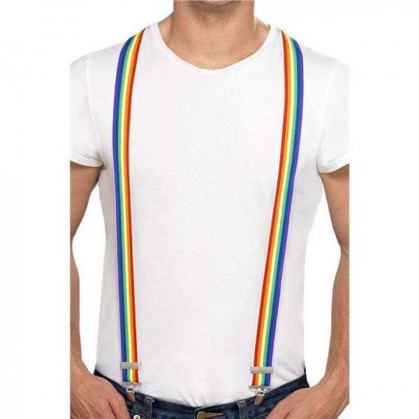 Rainbow CSD Hosenträger