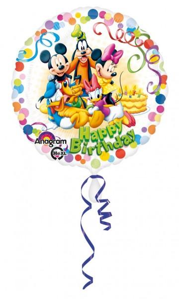 Bunter Mickey und Freunde Geburtstagsballon