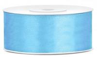 25m Geschenkband himmelblau 25mm breit