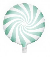 Candy Party Folienballon mint 45cm
