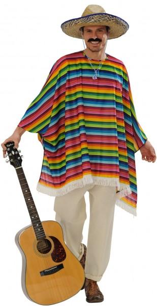 Poncho & Sombrero Mexican Set