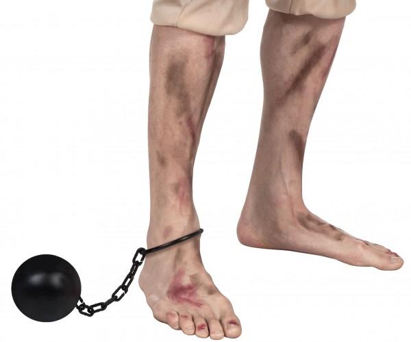 Knast Fußfessel 12cm