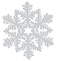 Funkelnder Schneeflocken Hänger 16cm