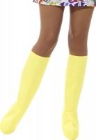 Gelbe Funky Stiefelstulpen