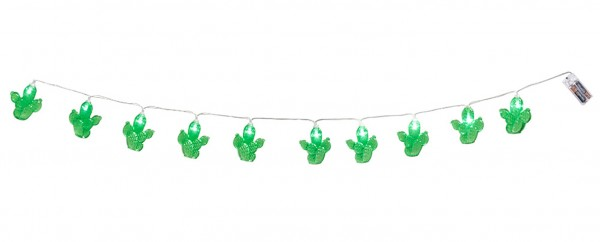 Cactus LED light chain 140cm