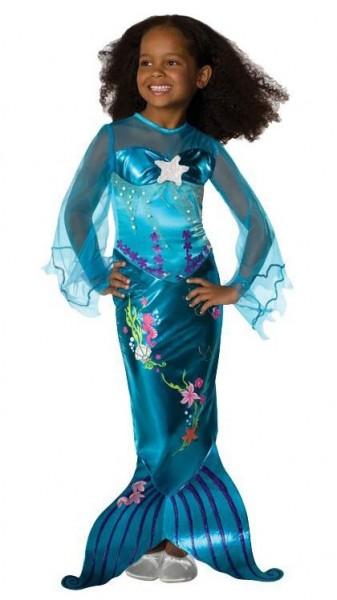 Kleine Nixe Alina Kostüm Für Mädchen