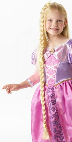 Langer Rapunzel Zopf Blond 1