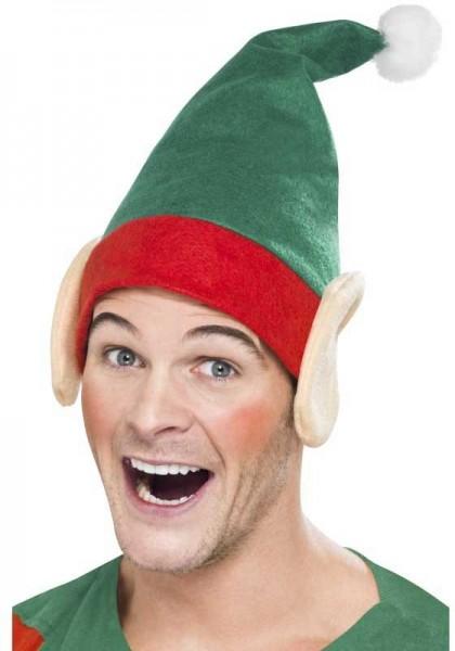 Weihnachtshelfer Elfen Mütze