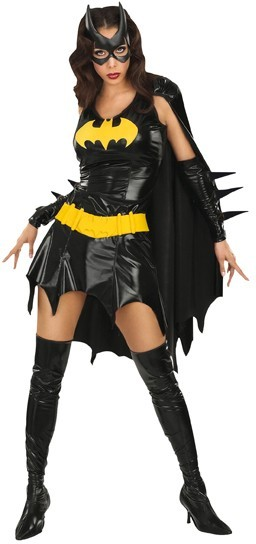 Seductive Batgirl ladies costume