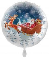 Ballon de Noël en aluminium 45cm