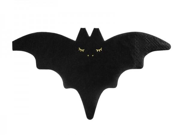20 Be Scary Vleermuis servetten 16 x 9 cm