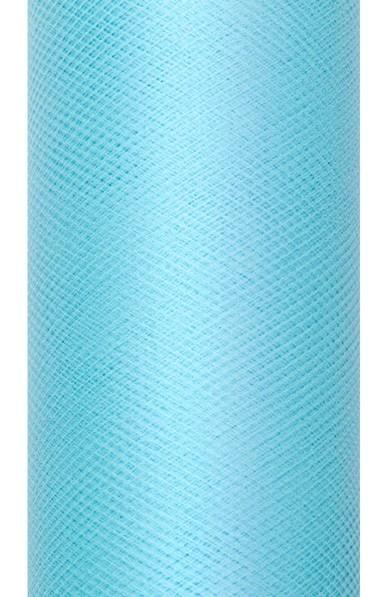 Tissu Tulle Luna turquoise 9m x 30cm