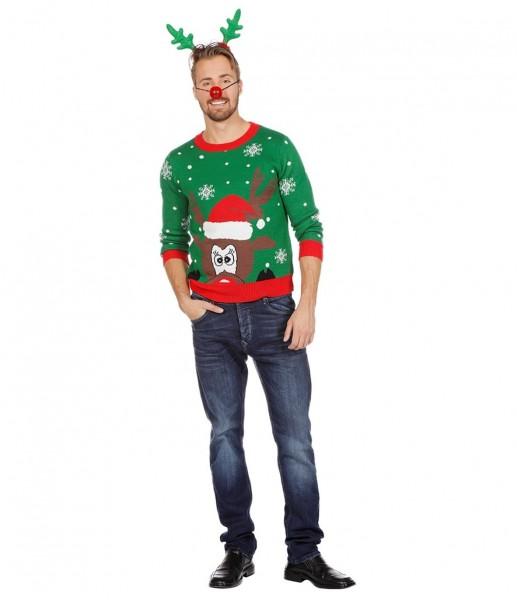Jersey navideño reno Rudi