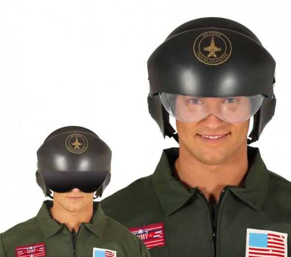 Airforce Kampfjet Piloten Helm für Erwachsene