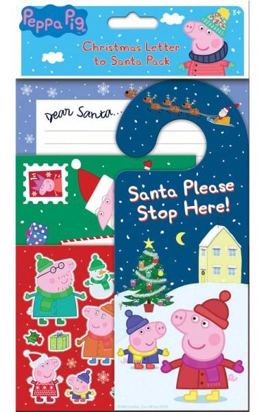 Peppa Pig Weihnachtsbriefe Set