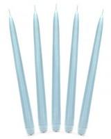 10 Stabkerzen Firenze eisblau 24cm