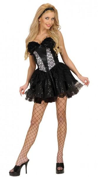 Black petticoat Michaela plain colors