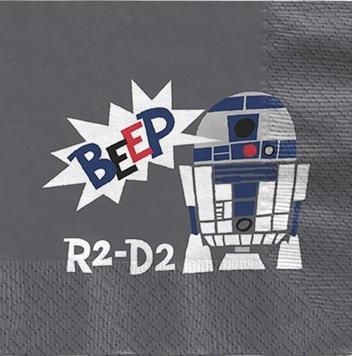 20 Star Wars Cartoon Servietten 33cm