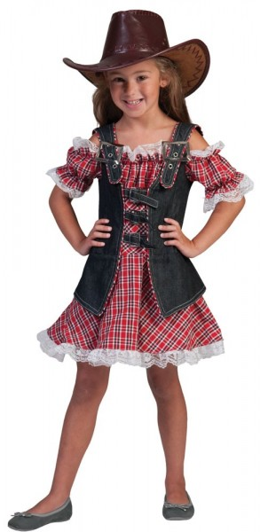 Cowgirl Cassy girl costume