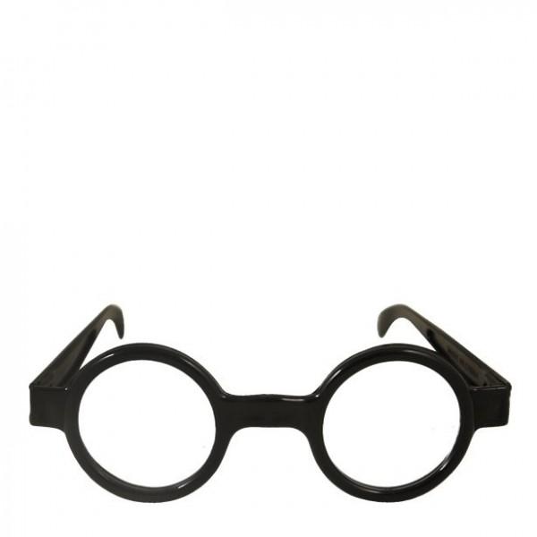 Streber Nerd Brille rund