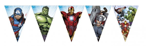 Avengers Heroes eyelash chains 2.3m