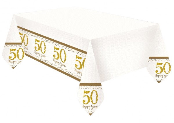 Sparkling 50 Years tablecloth