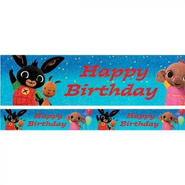 Bing Geburtstags-Banner 2,7m