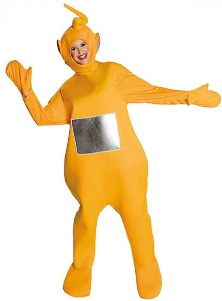 Lustiges Teletubbie Laa Laa Kostüm Erwachsene