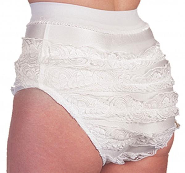 Ruffle panties children white