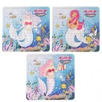1 Meerjungfrauen Puzzle 13 x 12cm