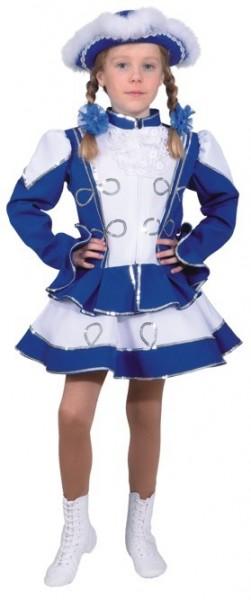 Blaues Funkemariechen Kostüm Für Kinder