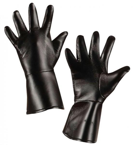 Lederhandschuhe Für Kinder Schwarz