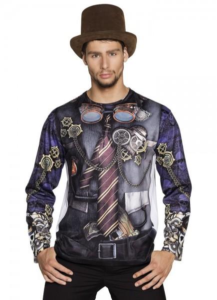 Camicia uomo Steampunk 3D Ivan
