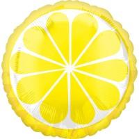 Freche Früchtchen Ballon Zitrone 45cm