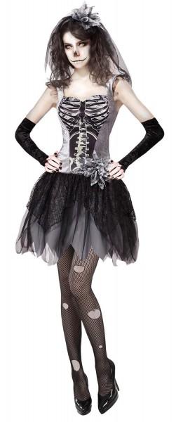 Vestito scheletro Susi per donna