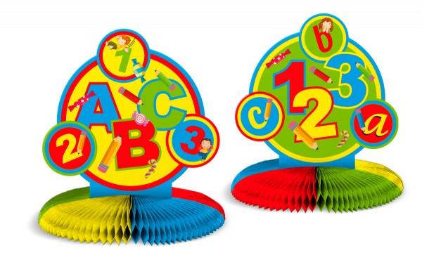 Soporte de bola de panal de inicio escolar 34 x 28 cm