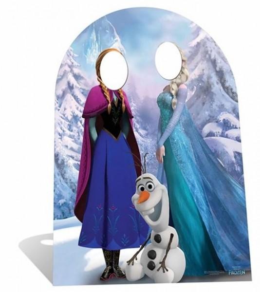 Anna & Elsa Frozen Fotowand 96cm x 1,27m