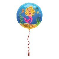 Folienballon Meerjungfrau Aliska