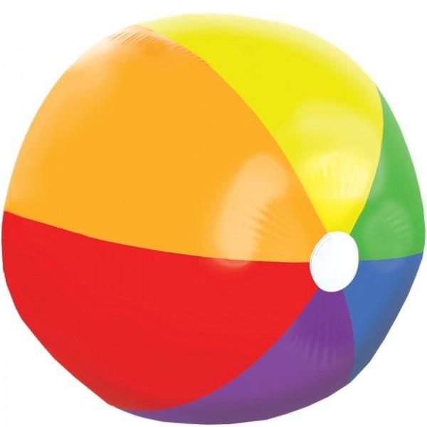 XXL rainbow beach ball 1.2m