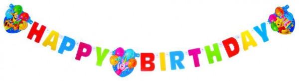 Birthday Winnie Puuh Girlande 1,8m