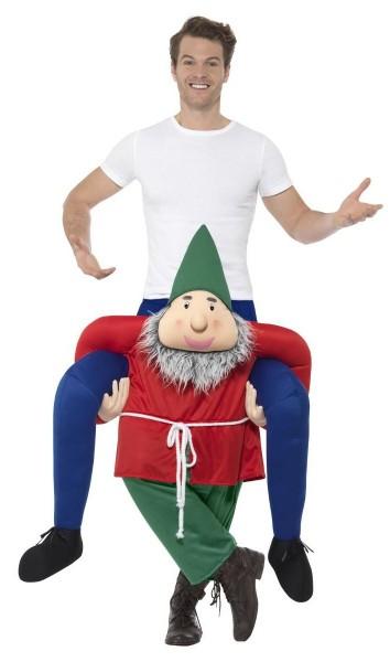Dwerg Yorick piggyback kostuum