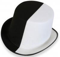 Black & White Party Zylinder